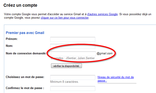 plusieurs adresses gmail