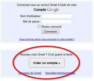 comment ouvrir un compte gmail
